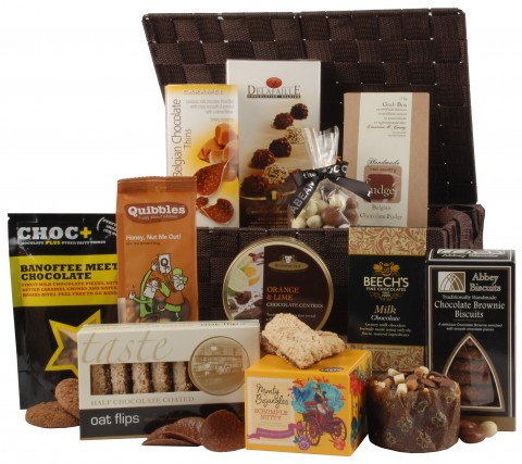 Deluxe Chocolicious Basket