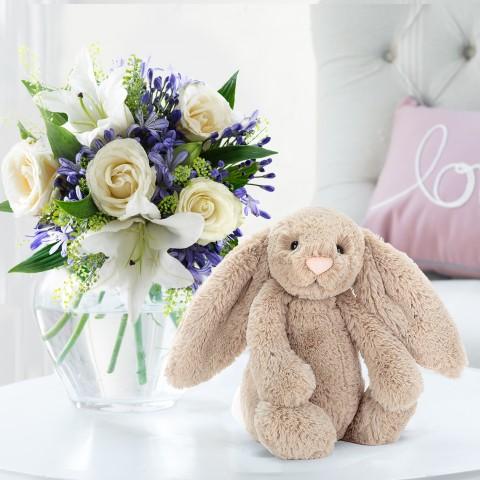 Bluebelle & Jellycat® Bashful Beige Bunny