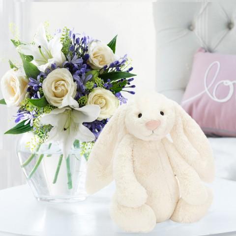 Bluebelle & Cream Bunny