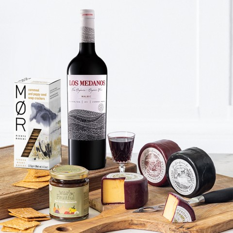 Classic, Cheese and Wine Luxury Hamper
