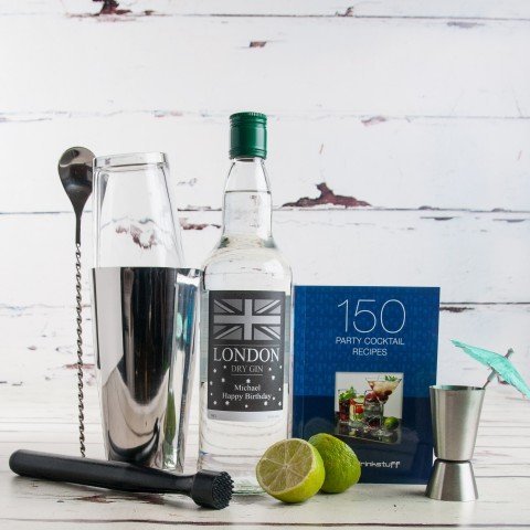 Personalised Gin Cocktail Set