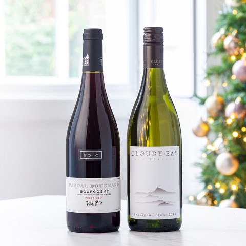 Cloudy Bay and Bourgogne Pinot Noir Duo