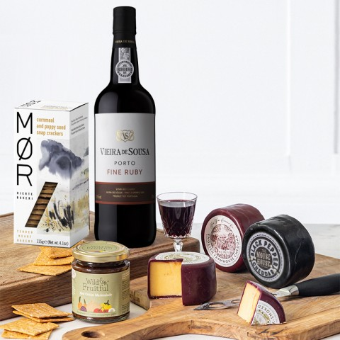 Classic, Cheese and Port Luxury Hamper