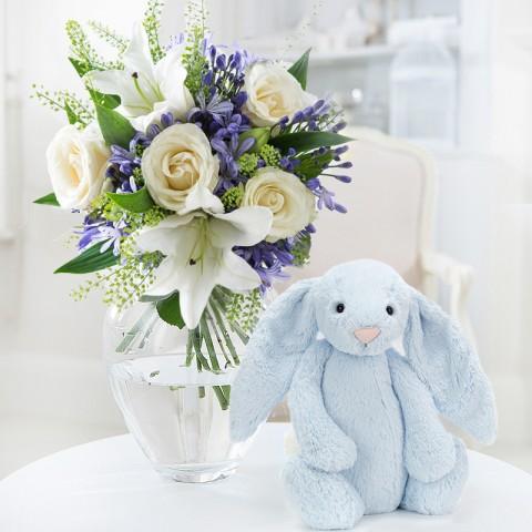 Bluebelle & Blue Jellycat® Bunny