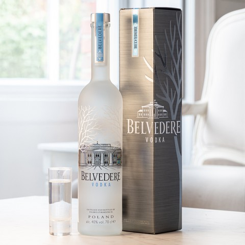 Belvedere with Giftbox