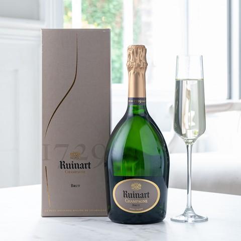 R de Ruinart Brut Champagne with Giftbox