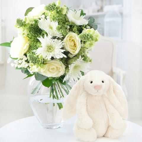 Purity & Jellycat® Cream Bunny