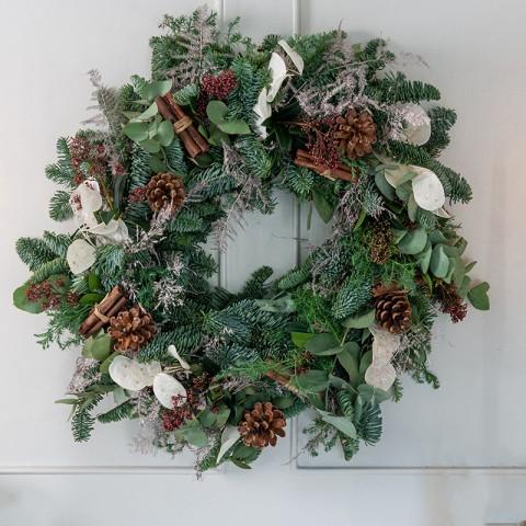 Winter Forest Wreath