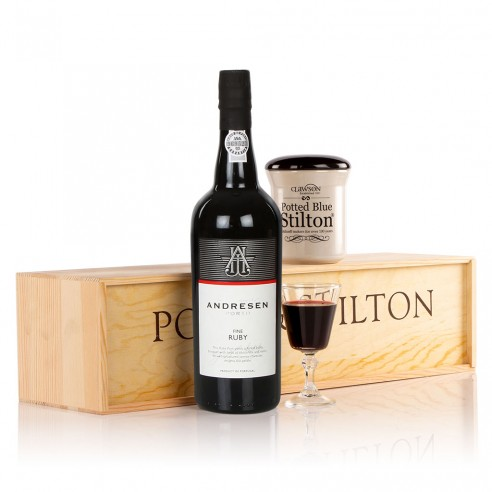 Indulgent Port & Stilton