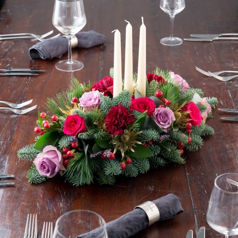 Luxury Christmas Table Centre