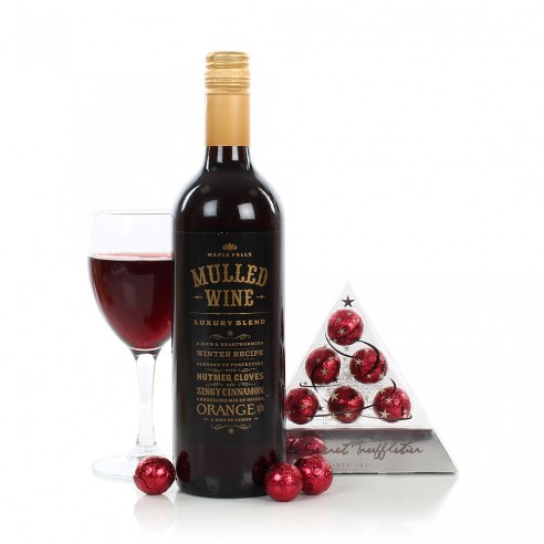 Chocolate & Mulled Wine Gift Set
