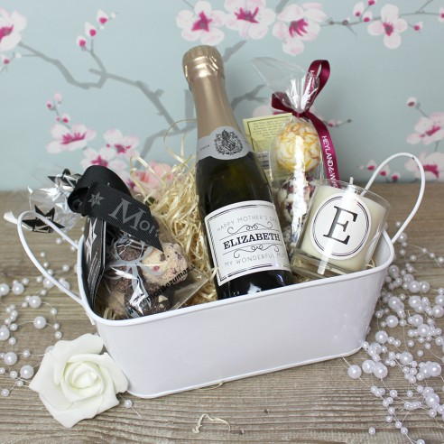 Mini Prosecco and Candle Pamper Pack