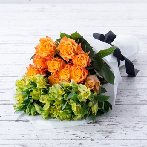 Rose & Alstro Cut Flowers