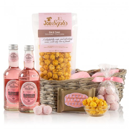 Pink Gin & Goodies Hamper