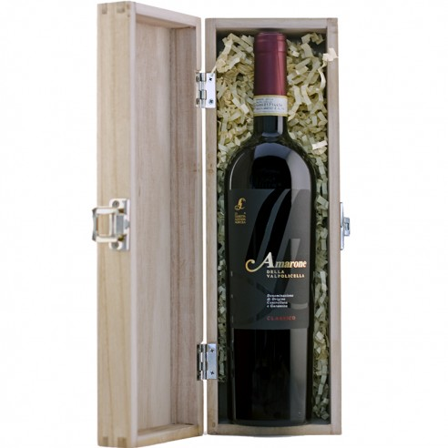Valentines Amarone in Wooden Gift Box
