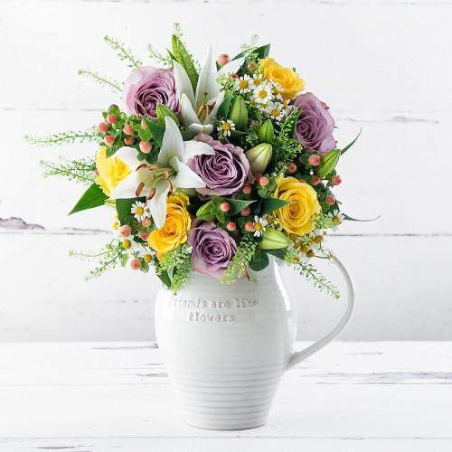 Appleyard London & Flowers with Vase | Flower Gift Sets | Appleyard Flowers
