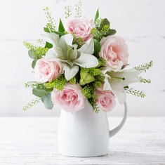 Simply Pink Rose & Lily & Rose Prosecco