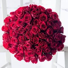 50 Red Roses & Veuve Clicquot