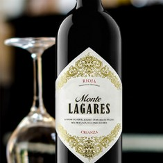 Cherry Brandy with Monte Lagares Rioja