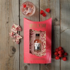 Bottle 'N' Bar With Pink Gin