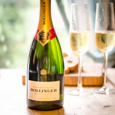Citrus Coulis & Bollinger