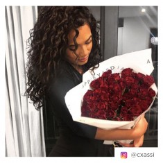 50 Red Roses & Moet Imperial NV Gift Box