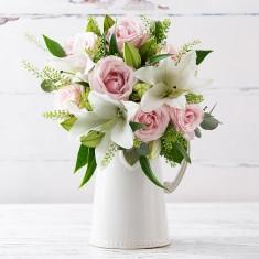 Simply Pink Rose & Mon Rose