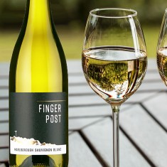 Champagne Orchid with Finger Post Sauvignon Blanc