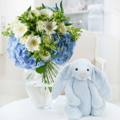 Forget me not & Jellycat® Bunny