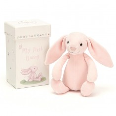 Simply Pink Rose & Lily & Jellycat® My First Gift Set
