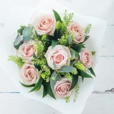 Simply Pink Rose & Moet Rose
