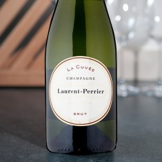 Champagne Orchid with Laurent Perrier La Cuvee