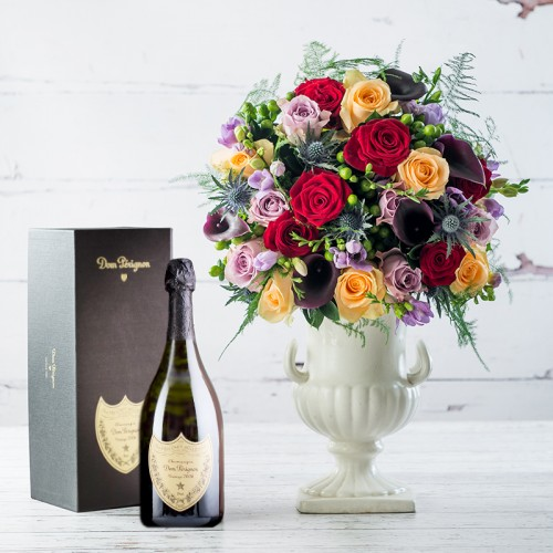 Dom Pérignon & Black Diamond Gift Set