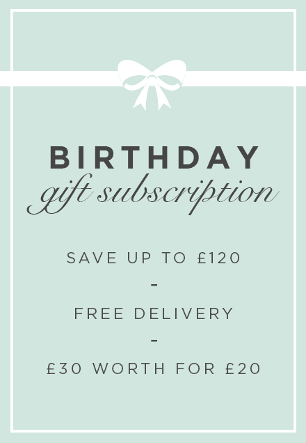 Birthday Gift Subscription